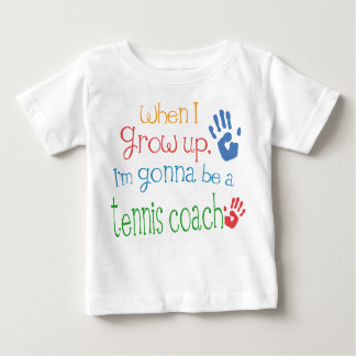Tennis Coach (Future) Infant Baby T-Shirt