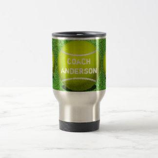 Tennis  Coach Gift Custom Ball Mug