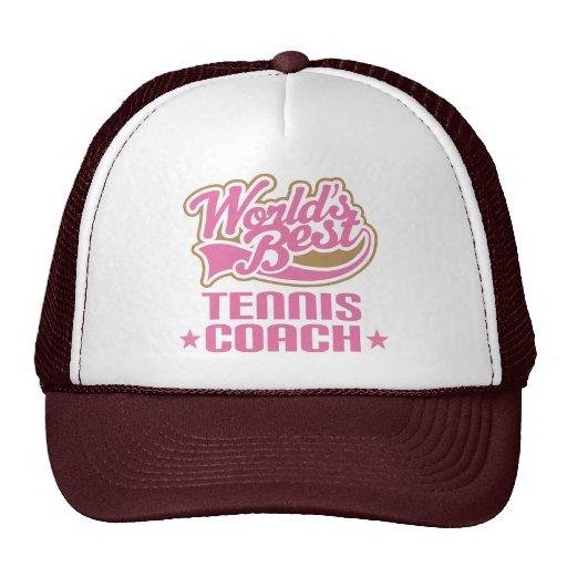 Tennis Coach Gift Trucker Hat