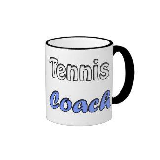 Tennis coach coffee mug