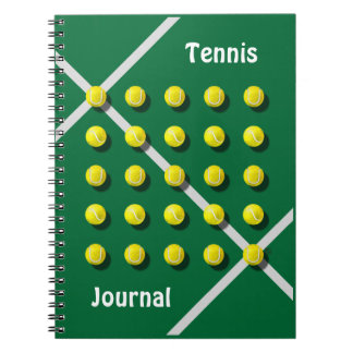 Tennis Coach, personalized Notebook