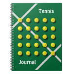 Tennis Coach, personalized Spiral Notebooks