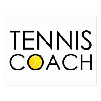 Tennis Coach Postcard