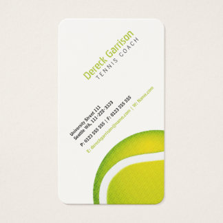Tennis Coach | Sport Business Card