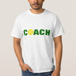 Tennis coach t shirt
