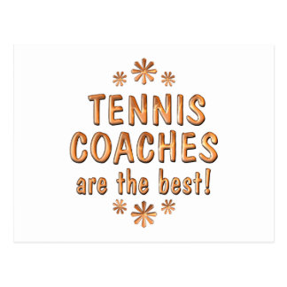 Tennis Coaches are the Best Postcard