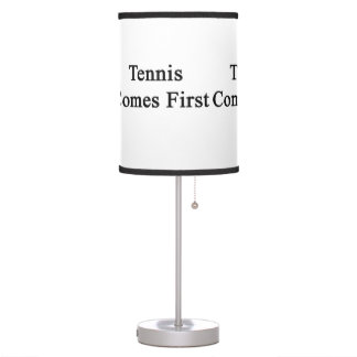 Tennis Comes First Table Lamp