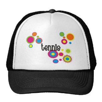 Tennis Cool Polka Dots Trucker Hat