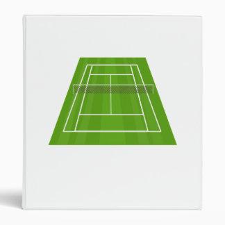 Tennis Court 3 Ring Binders