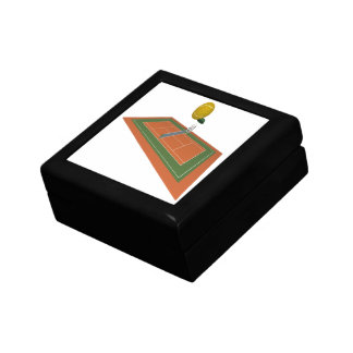 Tennis Court Jewelry Boxes