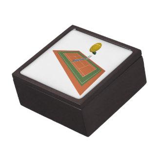 Tennis Court Premium Jewelry Box