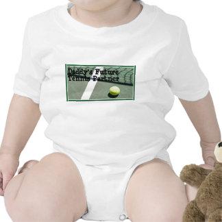 tennis_court, socio futuro del tenis del papá trajes de bebé