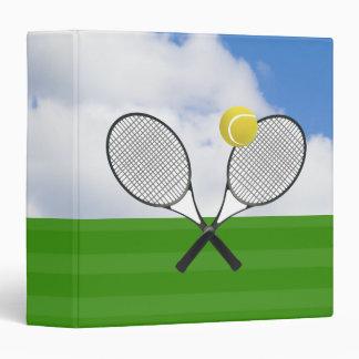 Tennis court & TENNIS RACKETS Binder