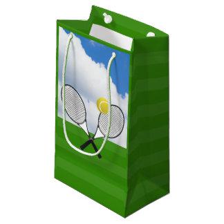 Tennis court & TENNIS RACKETS Small Gift Bag