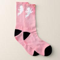 Tennis Cupid Socks