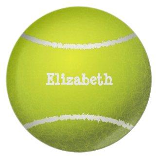 Tennis Custom Ball Plate