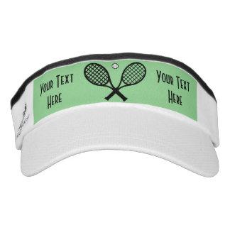 Tennis Customize Rackets Ball Sun Visor