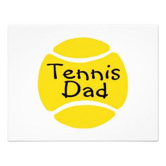 Tennis Dad 2 Personalized Invite