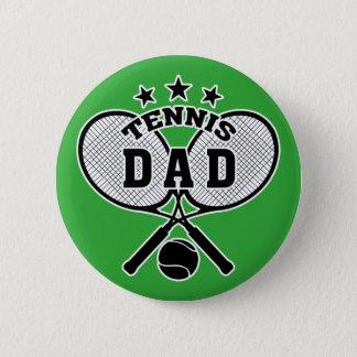 Tennis Dad Pinback Button