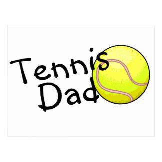Tennis Dad Postcard