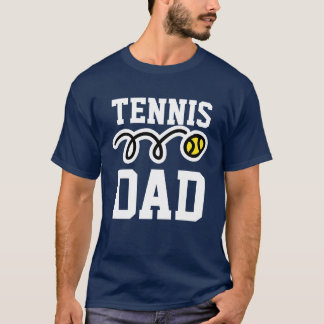 Tennis DAD T-shirt for daddy - father's day gift