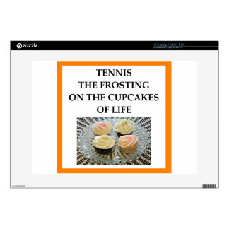 """TENNIS DECAL FOR 15"""" LAPTOP"""