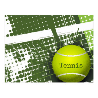 Tennis Design 2018 Postcard Calendar