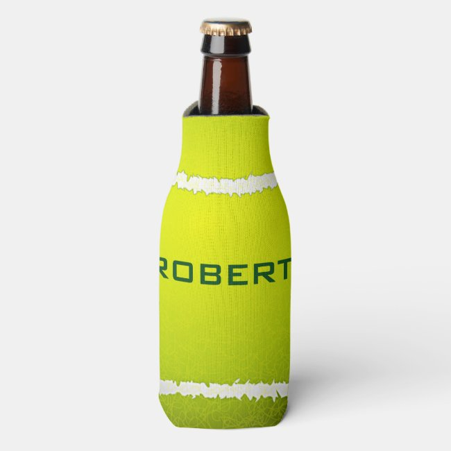 Tennis Design Can Cooler