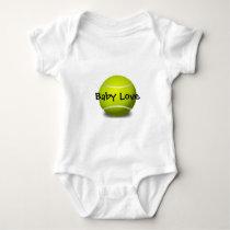 Tennis Design Customizable Baby Clothing Baby Bodysuit