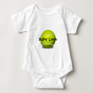 Tennis Design Customizable Baby Clothing Baby Bodysuit