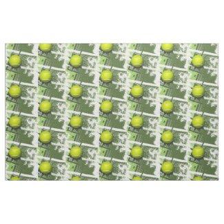 Tennis Design Fabric