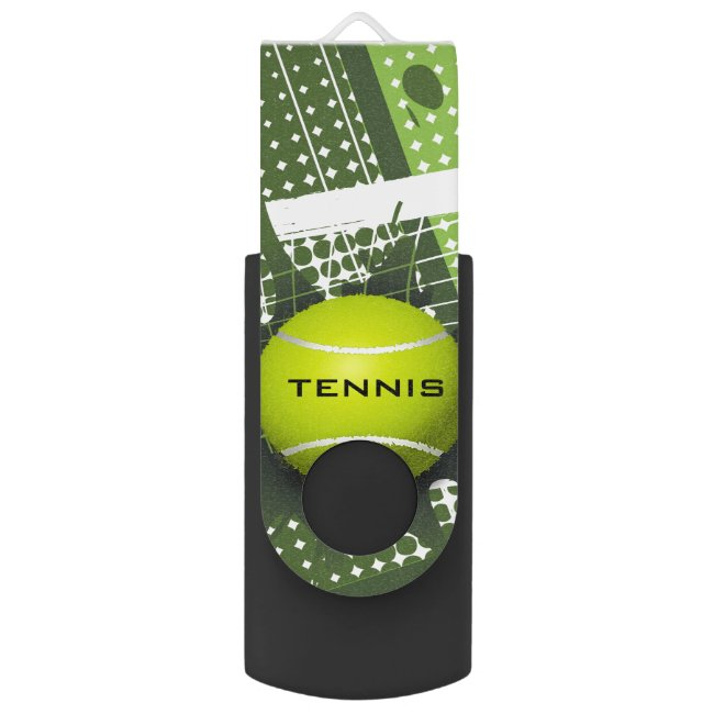 Tennis Design Flash Drive