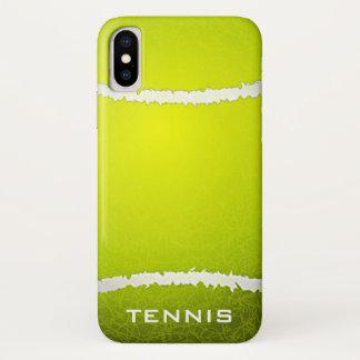 Tennis Design iPhone X Case
