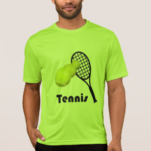 Tennis Design Men's Active Wear Sport-Tek T-Shirt