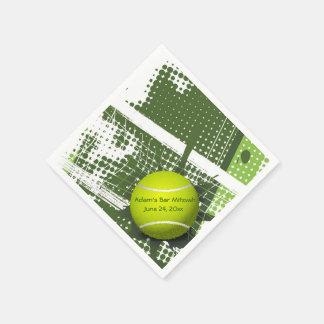 Tennis Design Paper Napkins