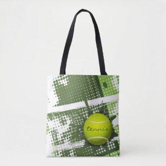 Tennis Design Tote Bag