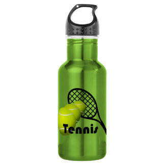 Tennis Design Water Bottle