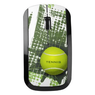 Tennis Design Wireless Mouse