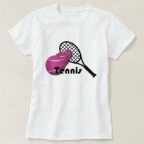 Tennis Design Women's Basic T-Shirt