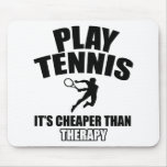 Tennis designs mouse pad