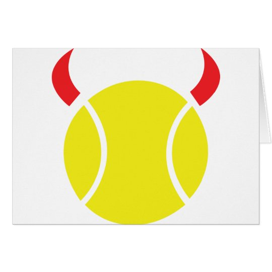 tennis devil card