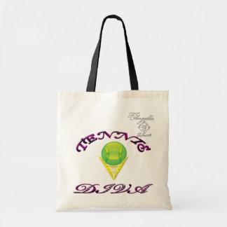 Tennis Diva Budget Tote bag