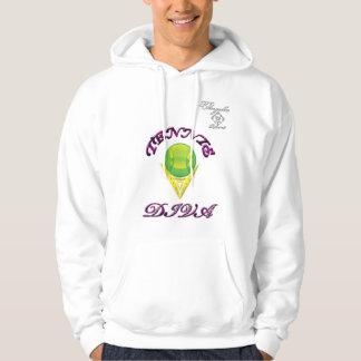 Tennis Diva Hooded Sweatshirt