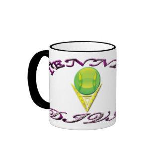 Tennis Diva Ringer Mug