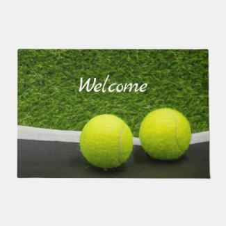 Tennis doormat