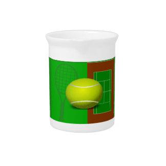Tennis Drink Pitcher