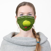 Tennis Eat, Sleep, Tennis, Repeat with love Cloth Face Mask