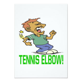 Tennis Elbow Card
