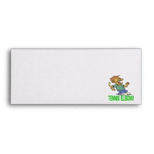 Tennis Elbow Envelope