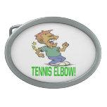 Tennis Elbow.png Belt Buckle